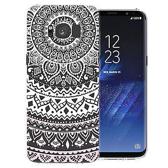 Samsung Galaxy S8 Mandala TPU Gel Case - weiß