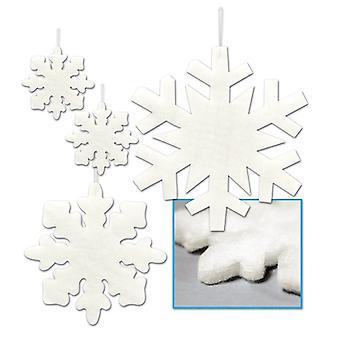 Asstd soffici fiocchi di neve