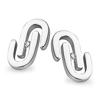 Orphelia Silber 925 Ohrringe Ausfahrt Diamond ZO-5003