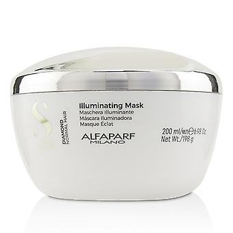 AlfaParf Semi Di Lino Diamond illuminant masque (cheveux normaux) 200ml/6,98 oz