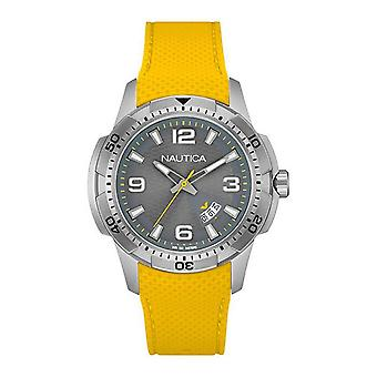 Nautica mens watch wristwatch NAI12520G silicone