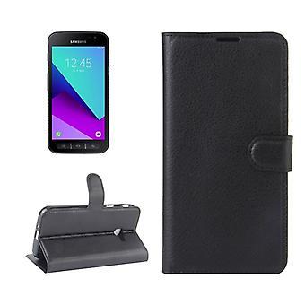 Prime de portefeuille poche noire pour Samsung Galaxy Xcover 4 G390F protection manches étui nouveau