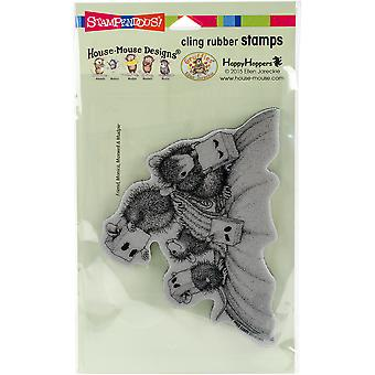 Stampendous House Mouse Cling stempel 7,75