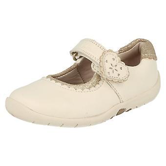Piger Clarks første sko hjerte sagte