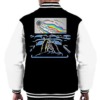 Unicorn Horror Night Psycho Cinema Men's Varsity Jacket