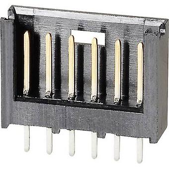 TE Connectivity 280508-2 Pin strip (standard) AMPMODU MOD II Total number of pins 9 Contact spacing: 2.54 mm 1 pc(s)