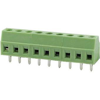 Degson DG381-3.5-03P-14-00AH Screw terminal 1.31 mm² Number of pins 3 Green 1 pc(s)