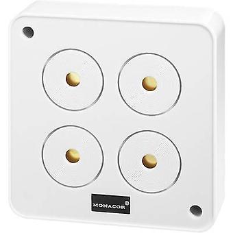 Alarm sounder 120 dB 12 Vdc Monacor 40020 AP-4