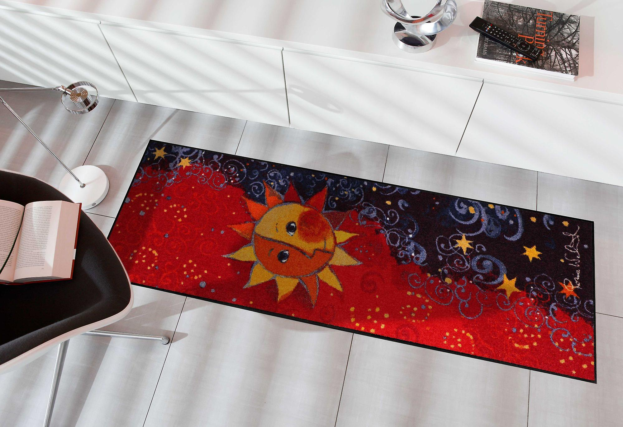 Rosina Wachtmeister deurmat enige remake 60 x 180 cm wasbaar vuil mat