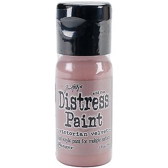 Distress Paint Flip Top 1oz-Victorian Velvet