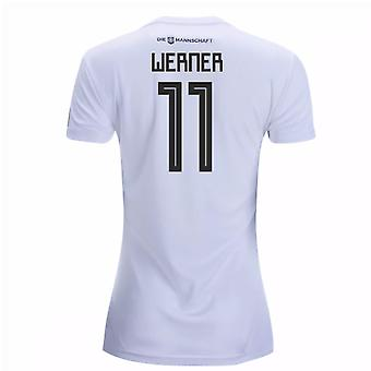 2018-19 Germany Home Womens Shirt (Werner 11)