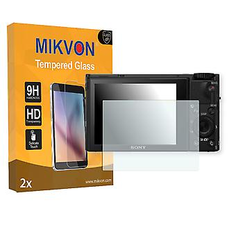 Sony Cyber-Shot DSC-RX100 IV Screen Protector - Mikvon flexible Tempered Glass 9H (Retail Package with accessories)