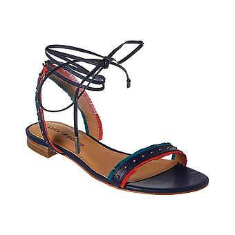 Lucky Brand Womens Toree Lace Up Flats Sandals