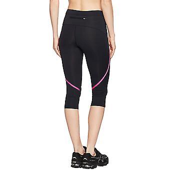 ASICS Damen 3/4 beschnitten Capri laufen Gym Yoga Sport Leggings Hose Tight