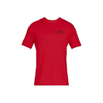 Sotto Armour Sportstyle sinistra petto Tee 1326799-600 Mens t-shirt