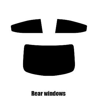 Pre cut window tint - Hyundai Elantra 4-door Saloon - 2011 to 2016 - Rear windows