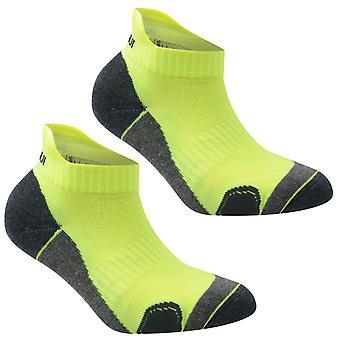 Karrimor Kids 2 Pack Running Socks Junior Anti Odour Treatment Comfortable