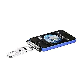 iHangy portachiavi con lo stilo per Apple iPhone 3/3G/4/4S/iPod - argento
