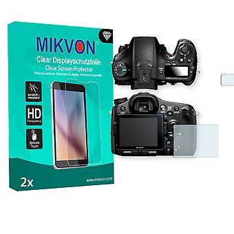 Sony SLT-A77 II Alpha Screen Protector - Mikvon Clear (Retail Package with accessories)