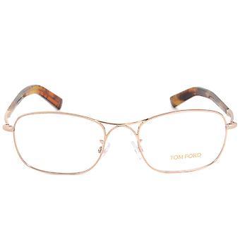 Tom Ford FT5366 28 Rectangular | Rose Gold | Eyeglass Frames