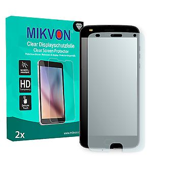 Lenovo Moto Z2 Play Screen Protector - Mikvon Clear (Retail Package with accessories) (reduced foil)
