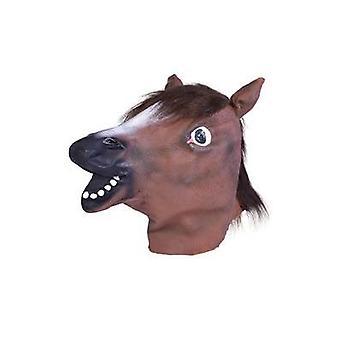 Máscara cabeza de caballo.
