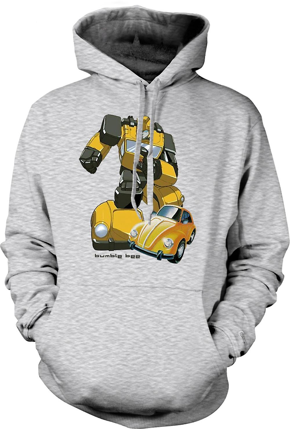 Mens Hoodie - Transformateurs - Bumblebee - Comic
