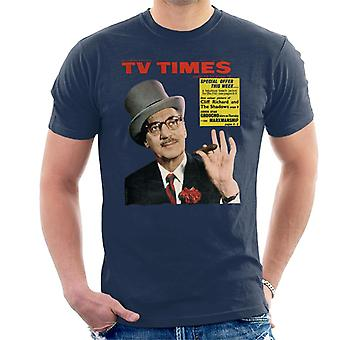 TV Times Groucho Marx 1965 Cover Men's T-Shirt