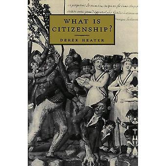 Vad är medborgarskap?