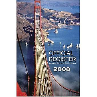 Official Register 2008
