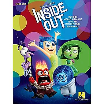 Giacchino Inside Out Disney Pixar Motion Picture Piano Solo Songbook