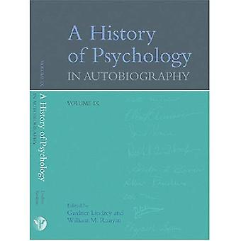 A History of Psychology in Autobiography v. IX