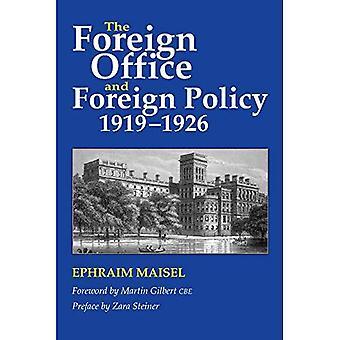 Il Ministero degli esteri e la politica estera, 1919-1926