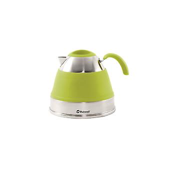 Outwell Collaps Wasserkessel 2,5 L LimeGreen