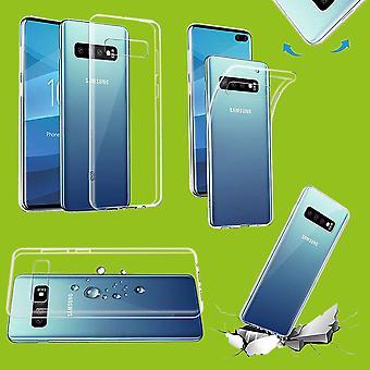 Für Samsung Galaxy S10 G973F 6.1 Zoll Silikoncase TPU Schutz Transparent Tasche Hülle Cover Etui Zubehör Neu
