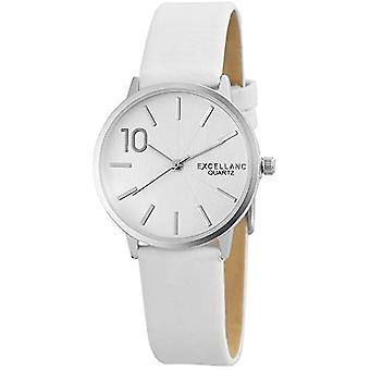 Excellanc 195022000176-wristwatch, different materials, color: cream