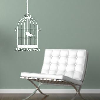 Birdcage Wall Art Sticker