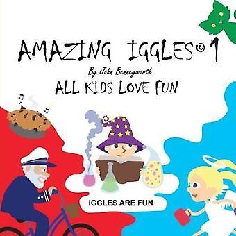 Amazing Iggles-bok 1-fem böcker i en av John Benneyworth-97817