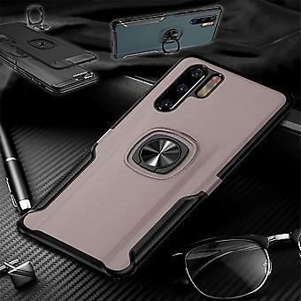 Pour protection Samsung Galaxy A50 6,4 pouces anneau magnétique en métal hybride affaire pochette rose housse Etui cas