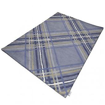 Rugs - Tom Tailor - Large Check Blue