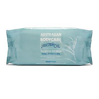 Australian Bodycare Tea Tree Oil Hygienic Wet Wipes (72 pcs)