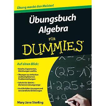Ubungsbuch Algebra Fur Dummies by Mary Jane Sterling - Judith Muhr -