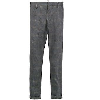 Dsquared2 Classic Tailored Trousers Grey