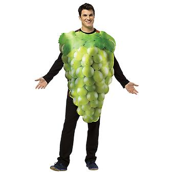 Adult Green Grapes Fruit Food Novelty Funny Fancy Dress Costume