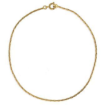 Bracelet Plaqué Or Maille Paloma 19cm
