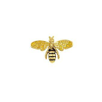 Ewige Sammlung Petite Honig Biene Goldton Anstecknadel