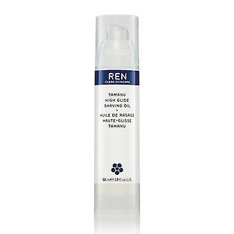 REN Tamanu High Glide Shaving Oil 50ml