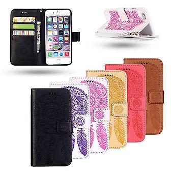 Iphone 7 Plus/8 Plus-cuir cas /couverture