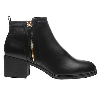 Miso Womens Rossini Zip Ladies Boots Shoes