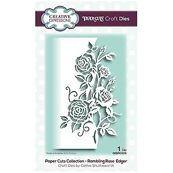 Creative Expressions Die Rambling Rose Edger | Paper Cuts Collection